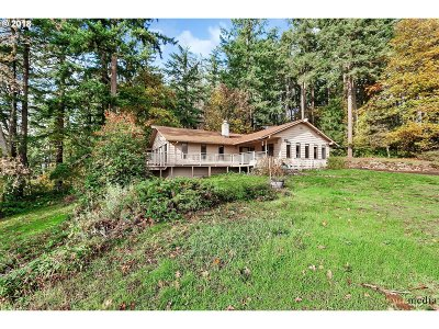 Happy Valley, Clackamas Single Family Home For Sale: 12455 SE Sunnyside Rd