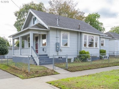 Portland Single Family Home For Sale: 7156 N Greenwich Ave