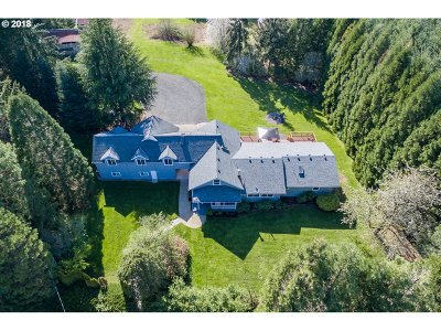 Sherwood, King City Single Family Home For Sale: 30545 SW Ladd Hill Rd