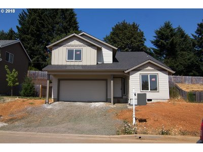 Willamina Single Family Home For Sale: 332 NW Pacific Hills Dr