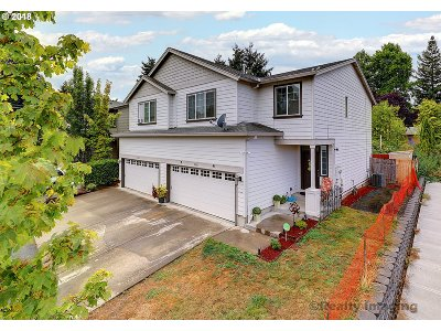 Single Family Home For Sale: 2601 SW 186th Pl
