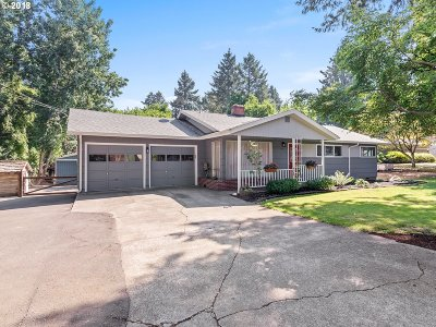 Tigard Single Family Home For Sale: 8840 SW Edgewood St