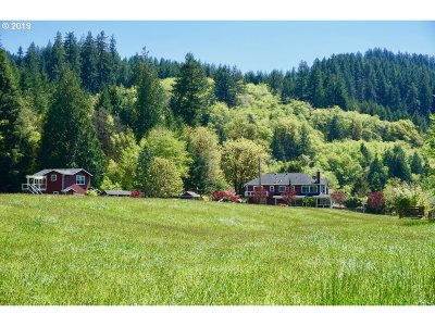 Florence Single Family Home For Sale: 9141 North Fork Siuslaw Rd