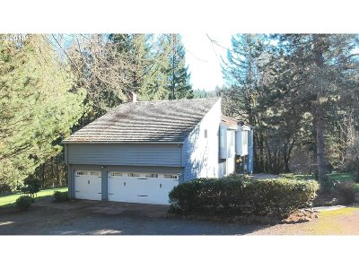 Hillsboro Single Family Home For Sale: 34990 SW Cloudrest Ln