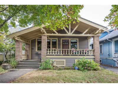 Single Family Home For Sale: 1837 SE 48th Ave