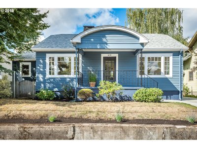 Portland Single Family Home For Sale: 605 SE 49th Ave