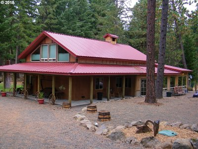 Goldendale Single Family Home For Sale: 750 Cedar Valley Rd