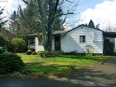 Single Family Home For Sale: 1111 SE 144th Ave