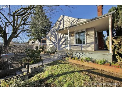 Single Family Home Sold: 4567 NE 83rd Ave
