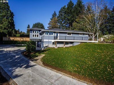 Hillsboro, Beaverton, Tigard Single Family Home For Sale: 13185 SW 115th Ave