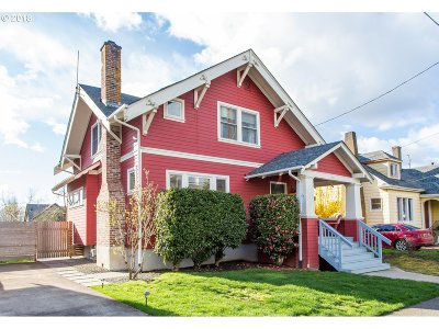 Portland Single Family Home For Sale: 603 SE 48th Ave