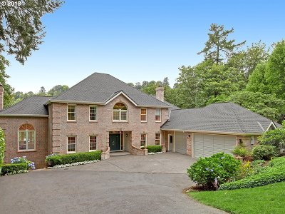 Lake Oswego Single Family Home For Sale: 2277 Summit Dr