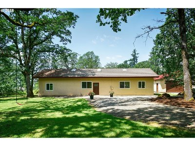 Molalla Single Family Home For Sale: 32505 S Wright Rd
