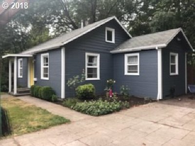 Single Family Home For Sale: 11845 SW Walker Rd