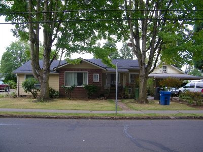 Woodburn Single Family Home For Sale: 428 Gatch St