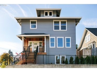 Single Family Home For Sale: 3769 SE 49th Ave