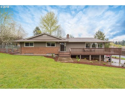 Happy Valley Single Family Home Pending: 10961 SE Spruce View Ln