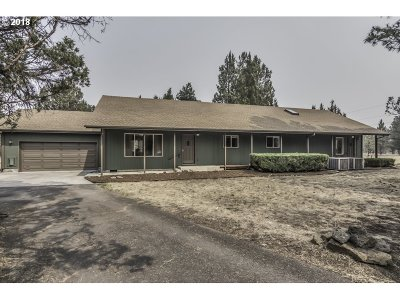 Sisters Single Family Home For Sale: 16760 Pine Tree Ln