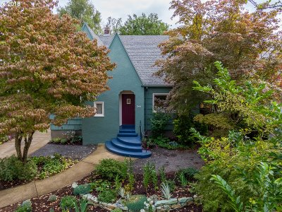 Single Family Home For Sale: 346 SE 45th Ave