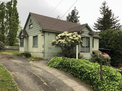 Coquille OR Single Family Home For Sale: $89,000