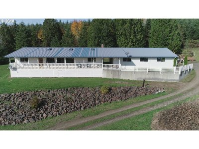 Cowlitz County Single Family Home For Sale: 321 N Mahaffey Rd