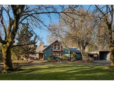 Milwaukie, Portland, Lake Oswego, Beaverton Single Family Home For Sale: 17345 NW Lucy Reeder Rd