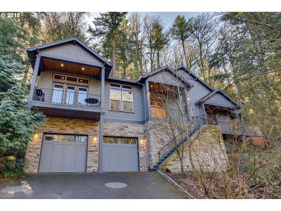 Single Family Home For Sale: 3323 SW Cascade Ter