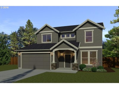 Canby Single Family Home Sold: 1012 S Walnut St #Lot82