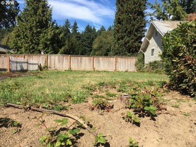 Portland Residential Lots & Land For Sale: N Swenson St