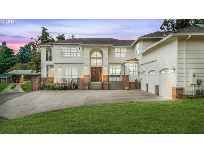 Single Family Home For Sale: 10725 NW Thompson Rd