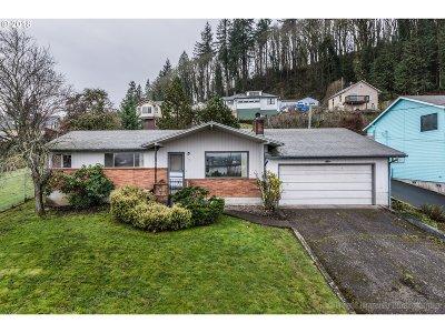 Rainier Single Family Home For Sale: 416 W D St