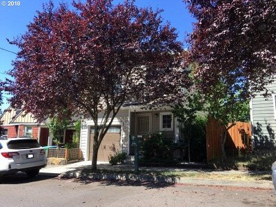Portland Single Family Home For Sale: 141 SE 119th Ave