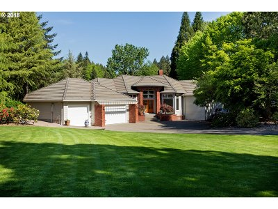 Wilsonville, Canby, Aurora Single Family Home For Sale: 15851 NE Eilers Rd