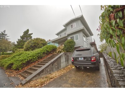 Coos Bay Multi Family Home For Sale: 1148 Central
