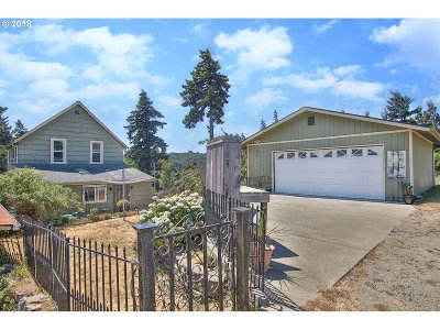 Coos Bay Single Family Home For Sale: 1344 Commercial