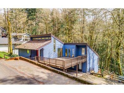 Portland Single Family Home For Sale: 3144 SW Cascade Ter
