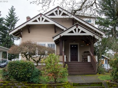 Portland Single Family Home For Sale: 7027 N Moore Ave