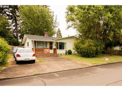 Springfield Single Family Home For Sale: 5980 E St