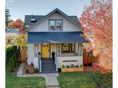 Single Family Home For Sale: 4703 NE 31st Ave