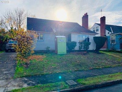 Single Family Home For Sale: 1934 NE Cramer St