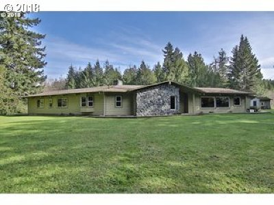 Coquille Single Family Home For Sale: 94256 Larkie Ln Hwy 42