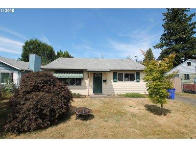 Portland Single Family Home For Sale: 6873 N Hudson St