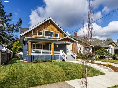 Multnomah County, Clackamas County, Washington County Single Family Home For Sale: 2535 NE 42nd Ave