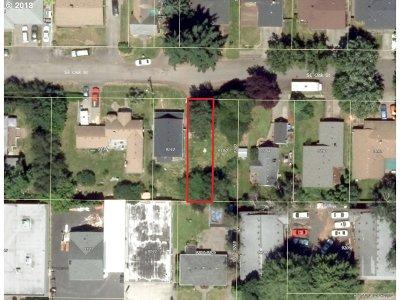 Portland Residential Lots & Land For Sale: SE Oak St