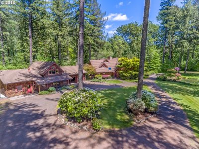 Lane County Single Family Home For Sale: 47227 Goodpasture Rd