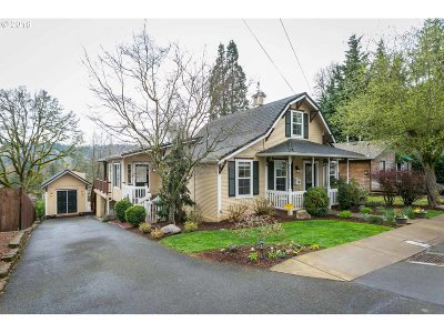 West Linn Single Family Home For Sale: 2155 5th Ave