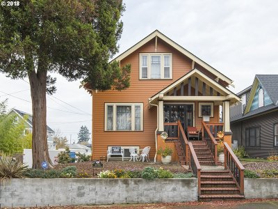 Single Family Home For Sale: 4736 NE 32nd Ave