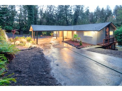 Single Family Home For Sale: 6955 SW Robbins Rd