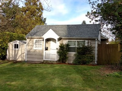 Single Family Home For Sale: 4560 NE 68th Ave