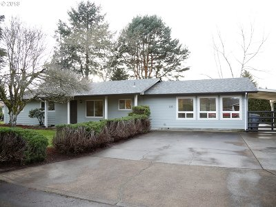 Canby Single Family Home Sold: 1315 N Juniper St
